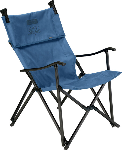 Grand Canyon El Tovar Highback Chaise, dark blue